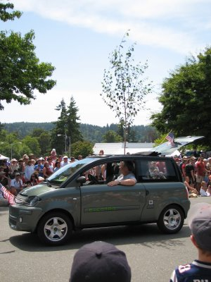 4th of July Parade on Bainbridge Island