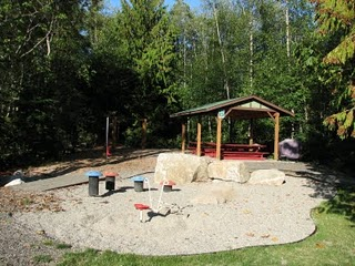Play area in the North Town Woods Neighborhood on Bainbridge Island