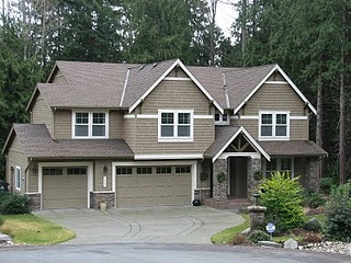 A home in the Stetson Ridge Neighborhood on Bainbridge Island