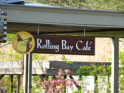 Rolling Bay Cafe in the Rolling Bay Neighborhood on Bainbridge Island