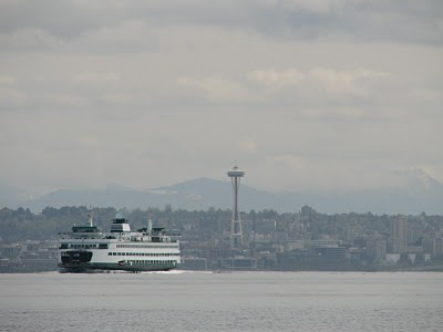From Rockaway Beach on Bainbridge Island