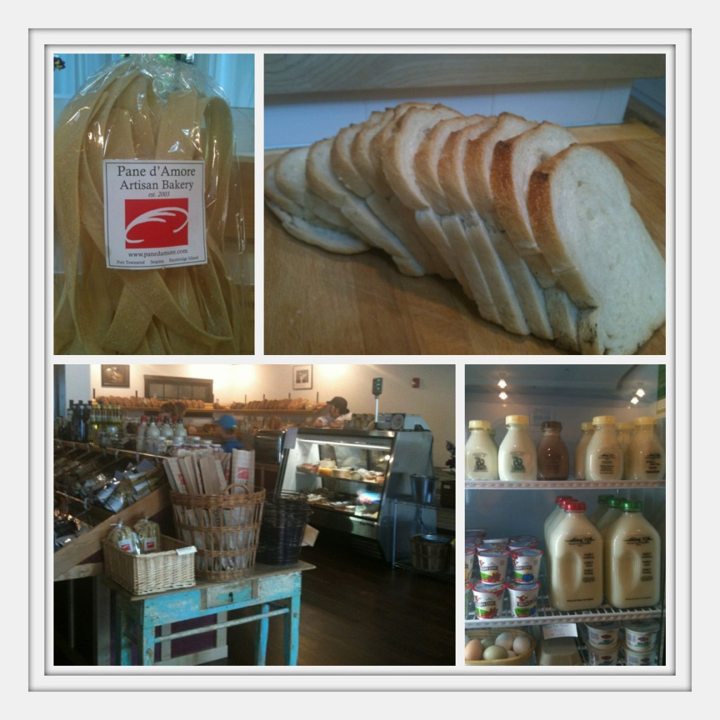 Pane d' Amore Bakery on Bainbridge Island