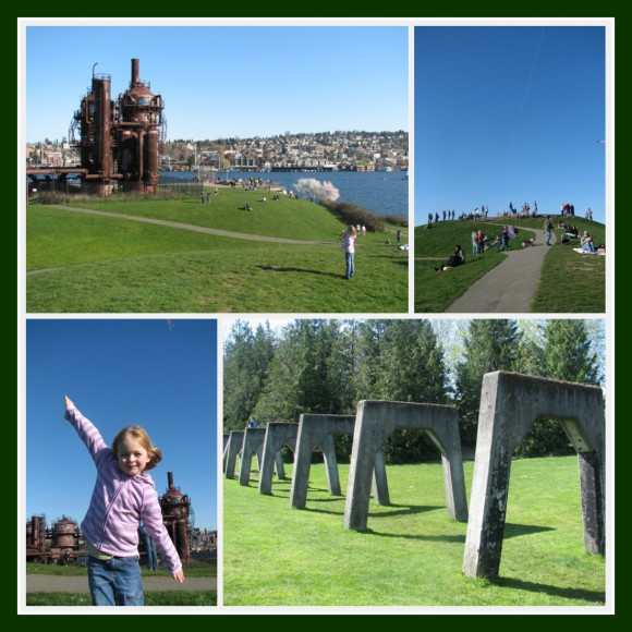 Gasworks Park Collage