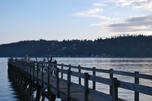 Point White Pier on Bainbridge Island