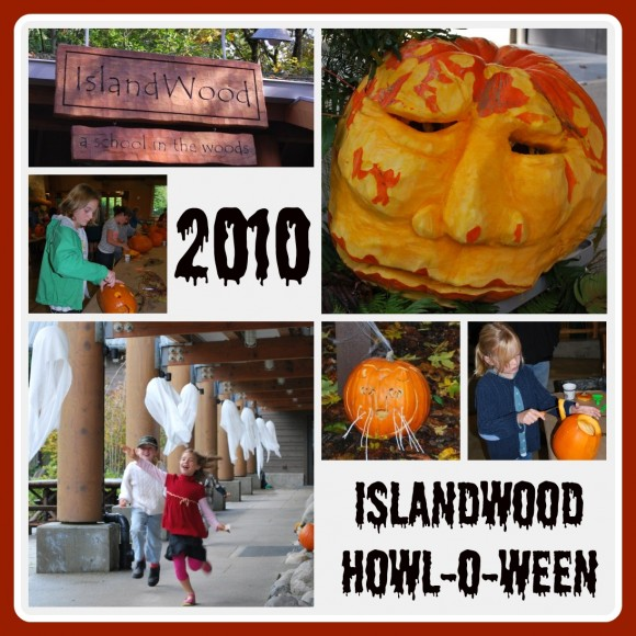 Islandwood Howl-o-ween on Bainbridge Island