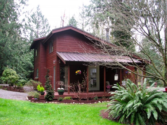 A home on North Tolo Road on Bainbridge Island.