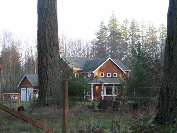 A home on Battle Point Drive on Bainbridge Island.