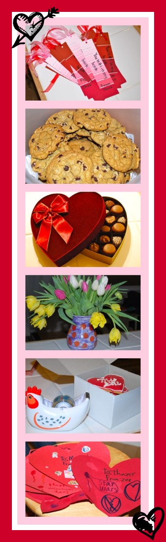 Valentine collage - jen pells