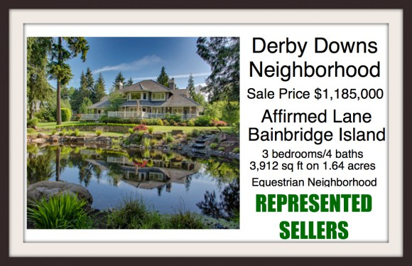 Affirmed Lane Sold by Windermere Agent Jen Pells