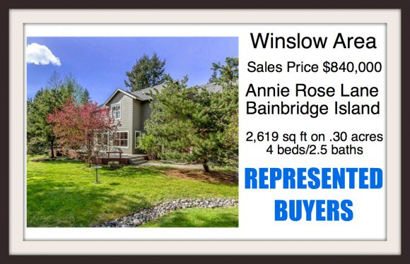 Annie Rose Lane on Bainbridge Island sold by Jen Pells Windermere Broker