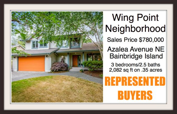 Azalea Avenue on Bainbridge Island sold by Jen Pells Real Estate
