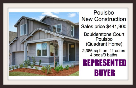 Boulderstone Court in Poulsbo sold by Jen Pells Windermere Realtor - A new Quadrant home in Mountain Air
