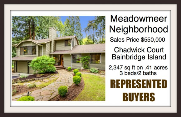 Chadwick Court on Bainbridge Island Sold by Jen Pells of Windermere