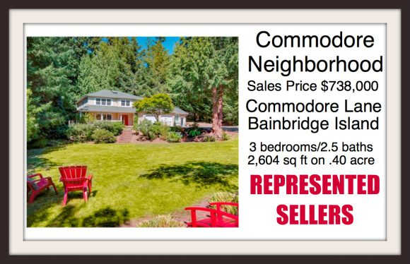 Commodore Lane on Bainbridge Island sold by Jen Pells Real Estate