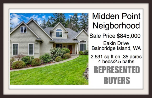Eakins Drive on Bainbridge Island sold by broker Jen Pells of Wiindermere Bainbridge