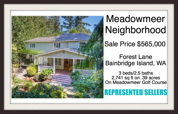 10971 Forest Lane Bainbridge Island, WA sold by Jen Pells
