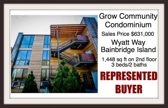 Grow Community Condo sold by Jen Pells of Windermere Bainbridge