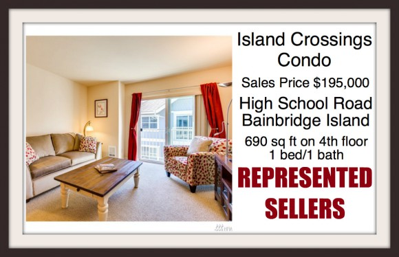 Island Crossings Condo on Bainbridge Island sold by Jen Pells of Windermere