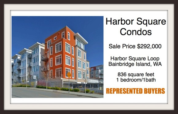 Harbor Square sold by Jen Pells Windermere Bainbridge
