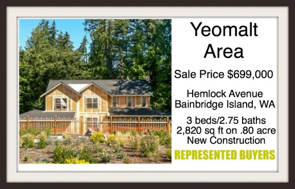 9372 Hemlock Ave on Bainbridge Island sold by Jen Pells