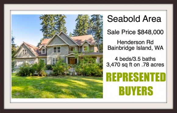 Henderson Rd home on Bainbridge Island sold by Jen Pells Windermere Bainbridge