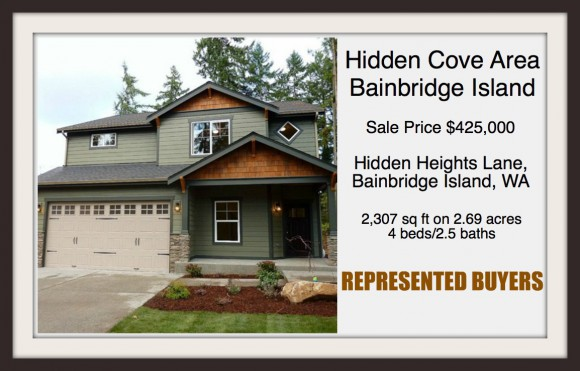 Hidden Heights Lane on Bainbridge Island sold by Jen Pells Windermere Agent