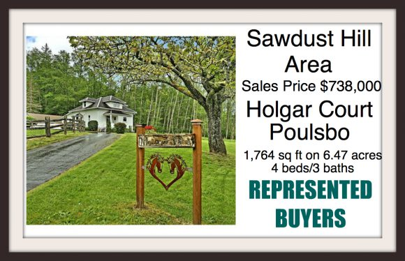 Holgar Ct in Poulsbo sold by Jen Pells Windermere Broker