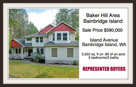 Island Avenue on Bainbridge Island sold by Realtor Jen Pells