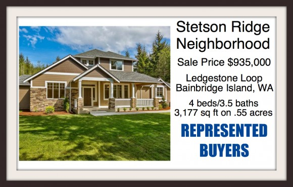 Home on Ledgestone Loop on Bainbridge Island sold by Jen Pells of Windermere Bainbridge