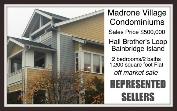 Madrone Village Condo on Bainbridge Island sold by Jen Pells Real Estate