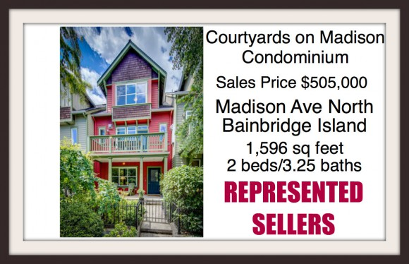 Courtyards on Madison Condo sold by Jen Pells of Windermere Bainbridge
