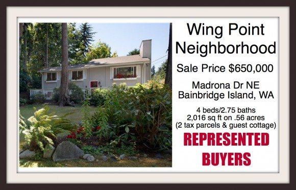 Wing Point Madrona Sale by Jen Pells Windermere Bainbridge