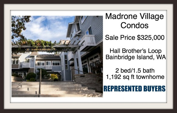 Madrone Village Condo on Bainbridge Island sold by Jen Pells