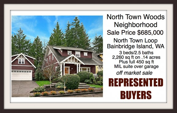 Home in North Town Woods on Bainbridge Island sold by Jen Pells of Windermere Bainbridge