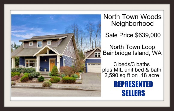 North Town Loop Sold by Jen Pells | Windermere Bainbridge