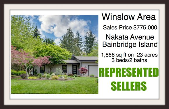 Nakata Ave on Bainbridge Island sold by Jen Pells Windermere Broker