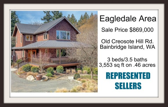 Old Creosote Hill Road sold by Jen Pells Windermere Bainbridge