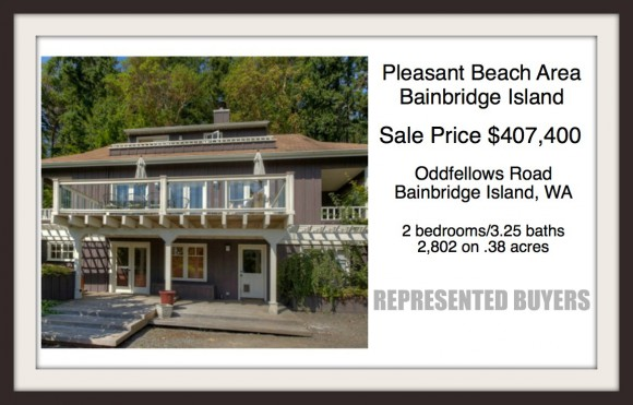Oddfellows Road sold by Jen Pells | Bainbridge Island Realtor