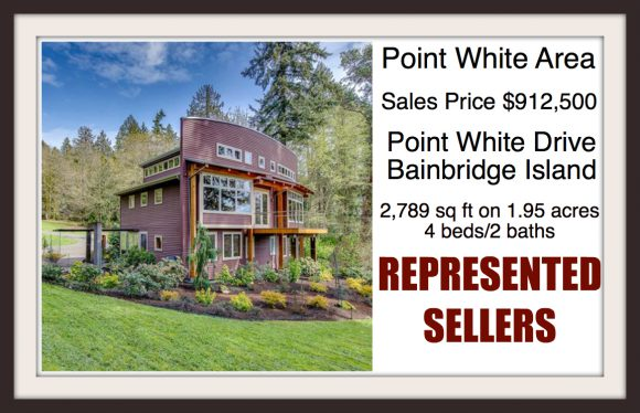 Point White Drive on Bainbridge Island sold by Jen Pells Windermere Agen
