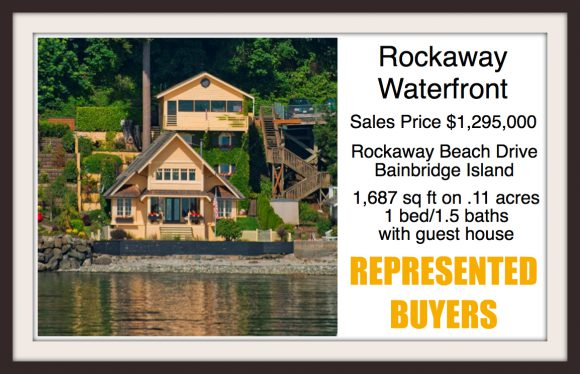 Rockaway Beach Drive on Bainbridge Island sold by Jen Pells Windermere Agent