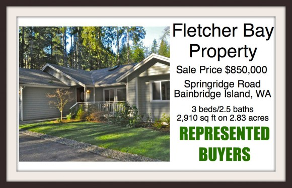 Springridge Road on Bainbridge Island sold by Jen Pells of Windermere Bainbridge