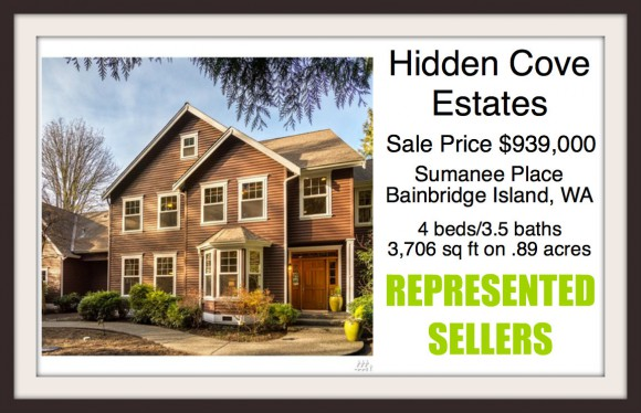 Sumanee Place home on Bainbridge Island listed and sold by broker Jen Pells of Windermere