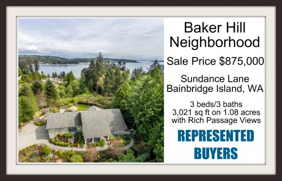 Sundance Lane Sold by Jen Pells Windermere Bainbridge Broker