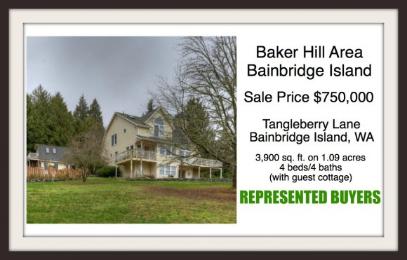 Tangleberry Lane on Bainbridge Island sold by Realtor Jen Pells