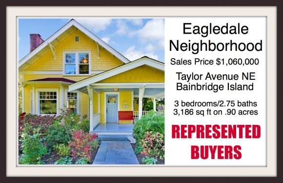 Taylor AVE NE on Bainbridge Island sold by Jen Pells Real Estate Bainbridge Island