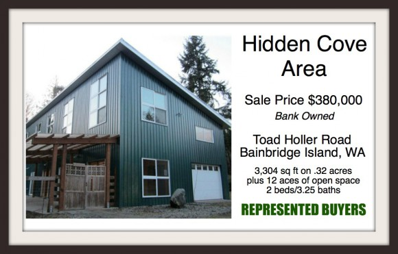 Toad Holler Rd on Bainbridge Island sold by Jen Pells Windermere Bainbridge