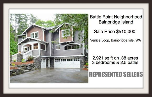 Venice Loop Home on Bainbridge Island sold by Jen Pells, Windermere Realtor
