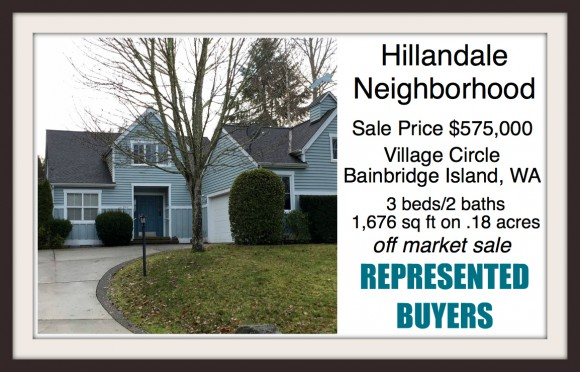 Village Circle home on Bainbridge Island sold by Jen Pells of Windermere Bainbridge