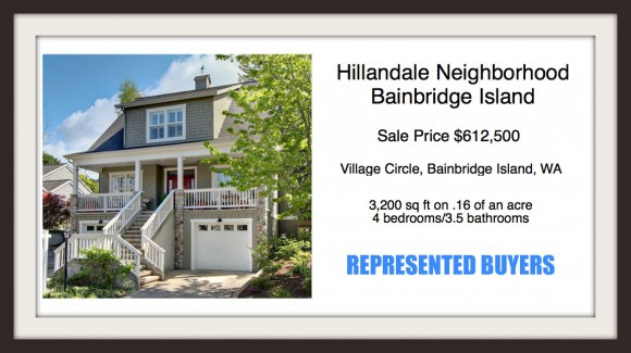 Village Circle on Bainbridge Island | Sold by Jen Pells