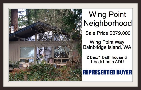 Wing Point Way on Bainbridge Island sold by Jen Pells